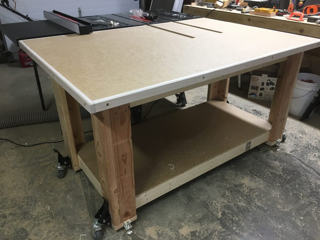Assembly Outfeed Table The Average Craftsman
