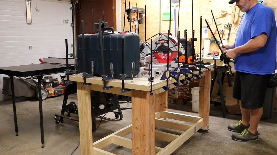 Heavy Objects and a Lot of Clamps