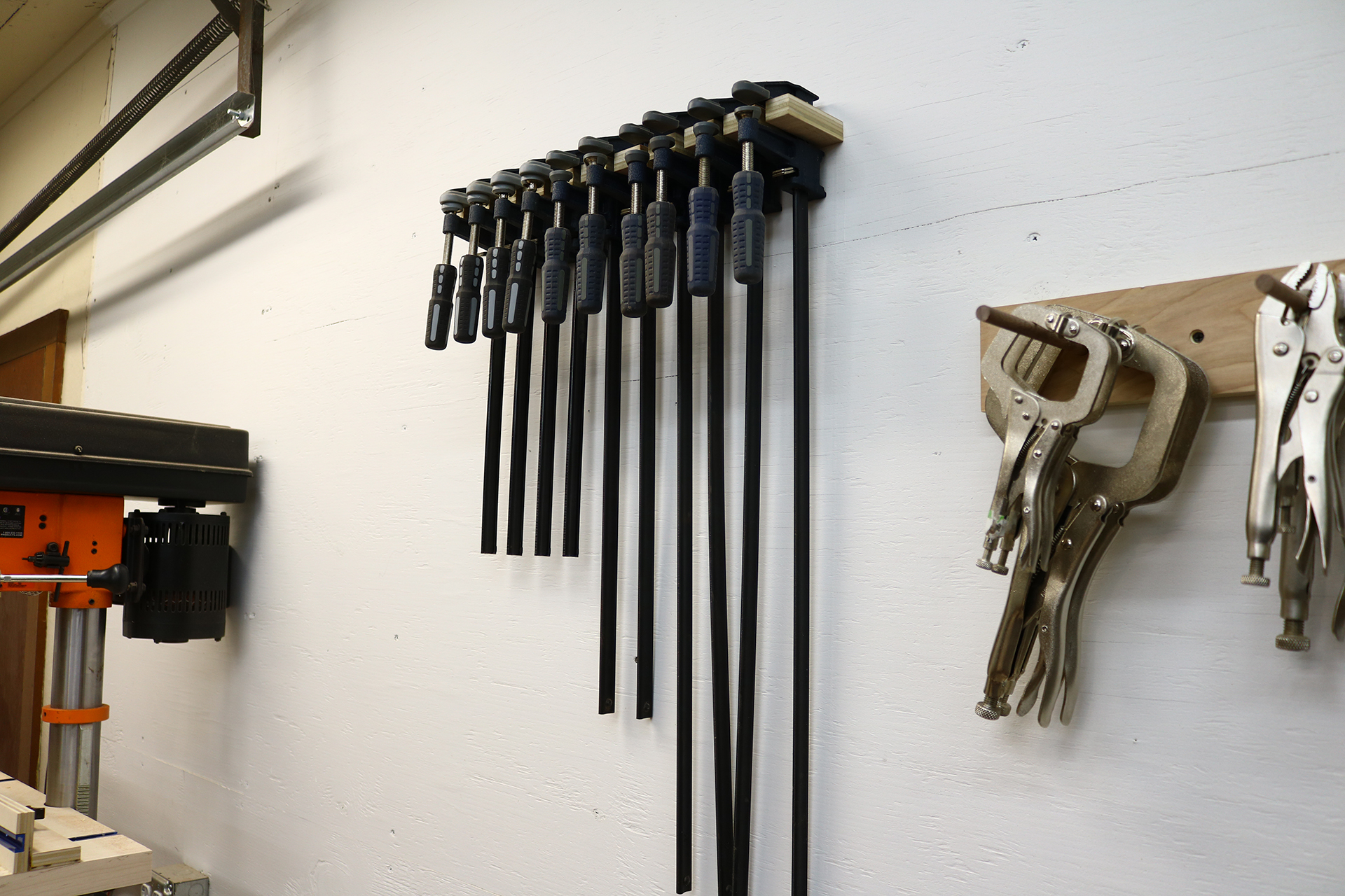 quick and easy clamp rack