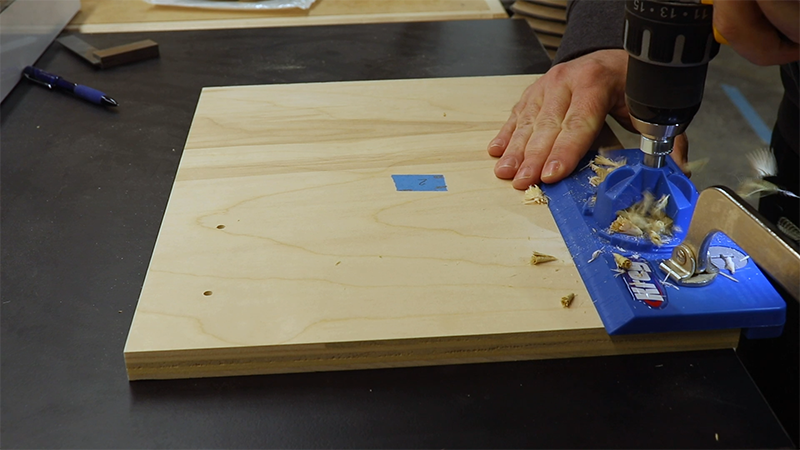 Using the Kreg Door Hinge jig