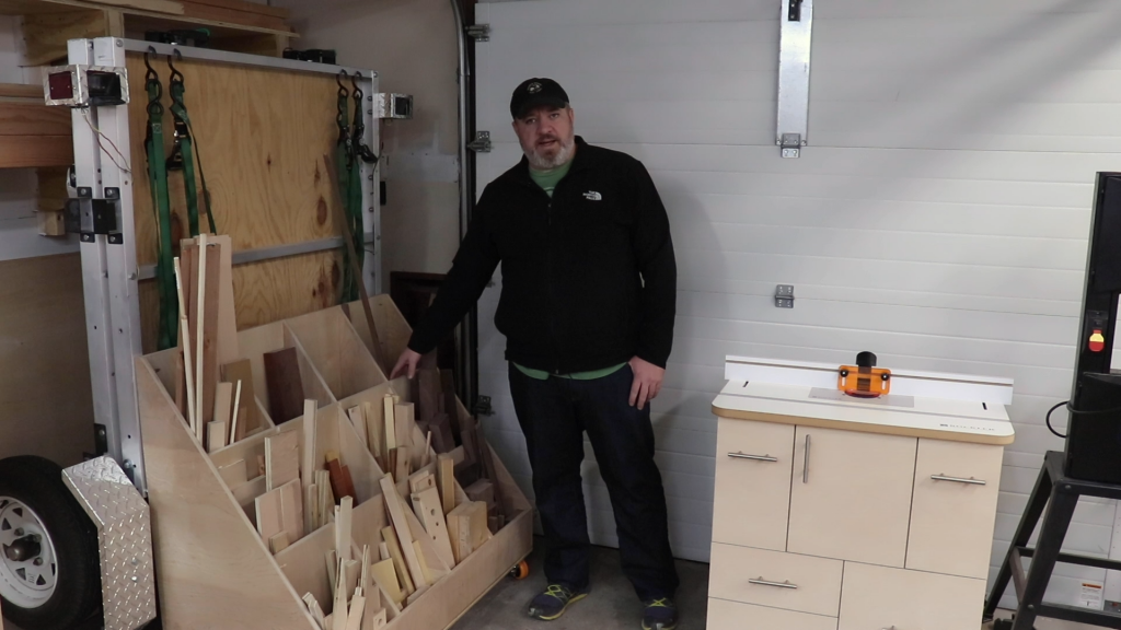 Scrap Wood Storage