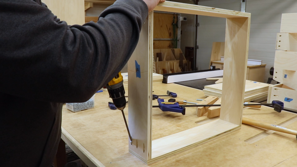 Building the Drawer Boxes
